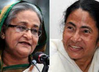Mamata Banerjee will go New Delhi to meet Sheikh Hasina