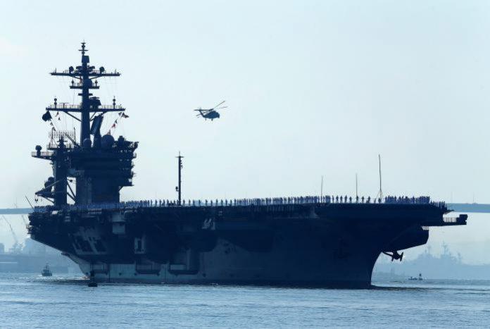 US Navy will move toward western Pacific Ocean