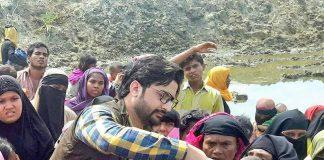 Salman Nizami, first Indian Politician provide aid to Rohingya refugees