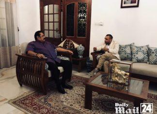 Meeting with Mahinda Rajapaksa and First Lady of Sri Lanka