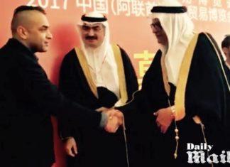 Social box launch at world trade centre in Dubai