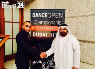 World championship dance in UAE