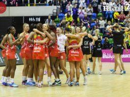 England V Australia netball finals