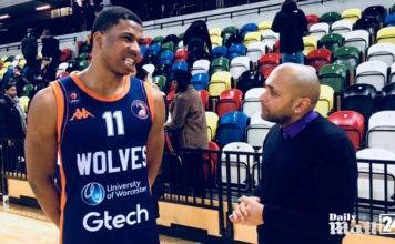 London Lions Vs Worcester Wolves EBL cup basketball