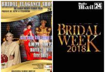 Srilankan Bridal Fashion week 2018
