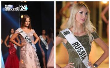 Adriana Fiakka represents Cyprus to Miss world