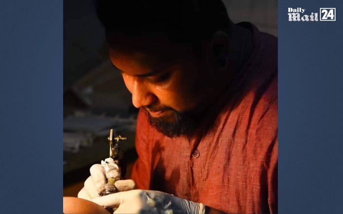 Draw your dream on the body, Meet Saidur Rahman Tattoo
