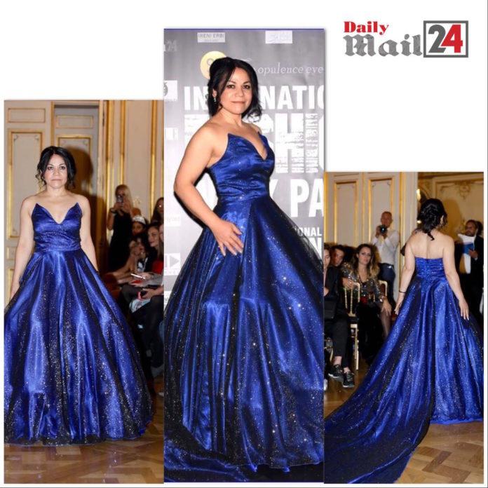 Patricia Aleman participated in several fashion shows with fashion designer Rafael Venuti