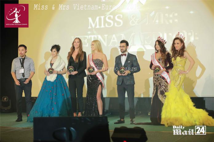 MS & Mrs. Vietnam Europe 2018