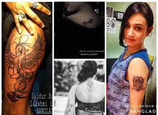 Several talented artists have chosen tattoo art as a livelihood