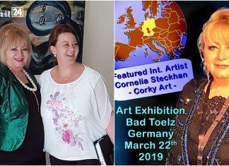 Painting Art exhibition 'ARTISTS AROUND THE WORLD'