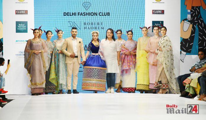 Delhi Fashion Club presented Handloom show