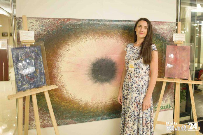 Ukrainian Energetic Artist Ol`svol`d was presented in Paris The Tsvetnosti Project