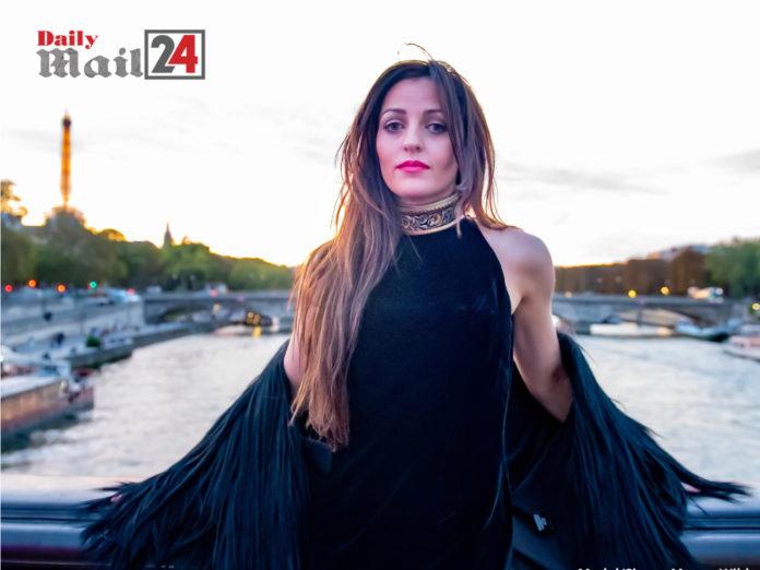 Megan Wilde Rocks Paris Fashion Week