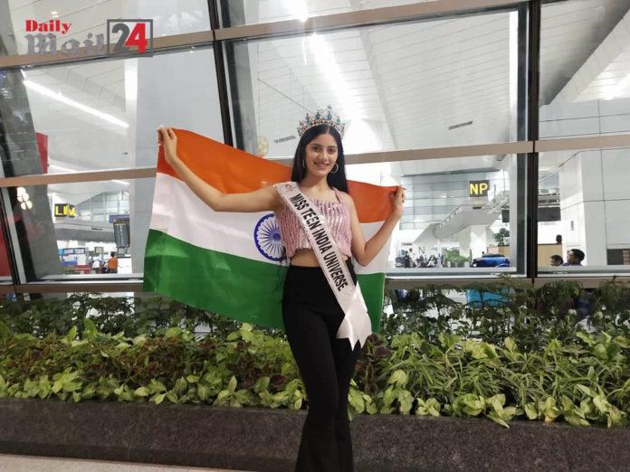 Vridhi Jain to Represent India at Miss Teen Universe 2019