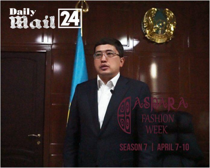 Greetings from the mayor of the city of Taraz Yerzhan Zhylkybaev