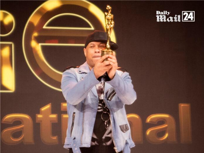 "Michael Lombard Blasts Off in Dubai with ""International Fashion Designer Of The Year Award"""
