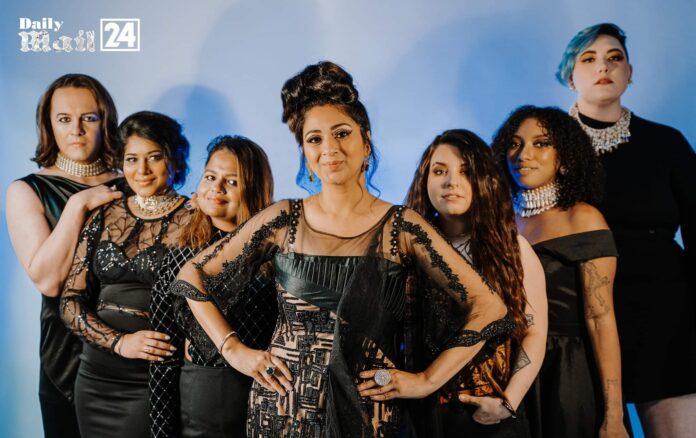 Vincent-Natasha Gay collaboration with Anjali phougat